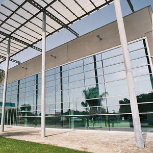 stick system curtain wall