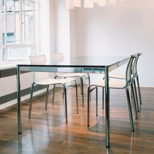 Rectangular dining table - All architecture and design ...