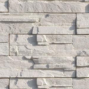 engineered stone wall cladding panel / interior / exterior / textured