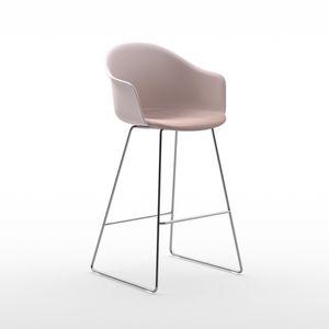 Scandinavian design bar chair