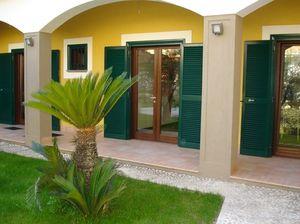 swing shutters / wooden / door