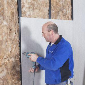 plaster construction panel