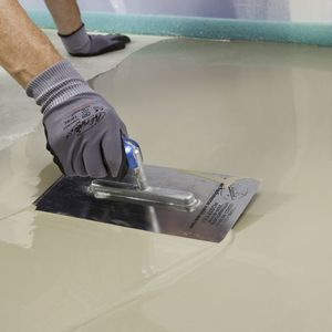 self-leveling mortar / for flooring screed / powder / insulating