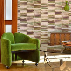 contemporary wallpaper / vinyl / nature pattern / geometric pattern
