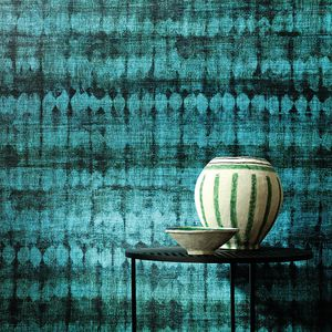 contemporary wallpaper / vinyl / floral / geometric pattern
