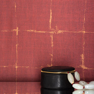 vinyl wallcovering / contract / textured / fabric look