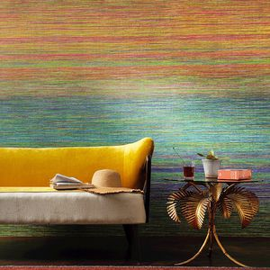 vinyl wallcovering / home / non-woven / embroidered