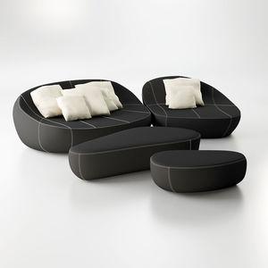 modular sofa / corner / semicircular / round