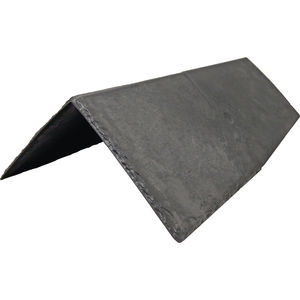 roof ridge tile / thermoplastic resin / slate look / traditional look