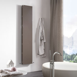 hot water radiator / metal / contemporary / bathroom