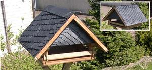 free-standing birdhouse