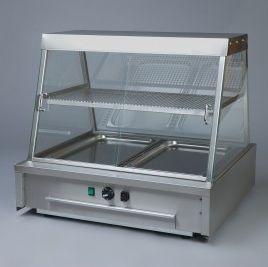 countertop warmer display case