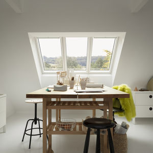 fixed roof window