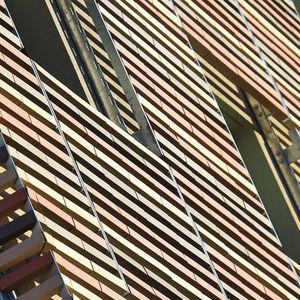 terracotta solar shading / for facade / horizontal