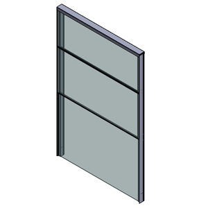 glass panel balcony