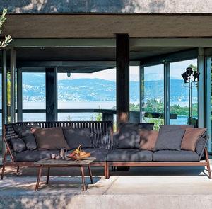 outdoor sofa / modular / corner / contemporary