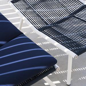 garden footstool / contemporary / metal / indoor