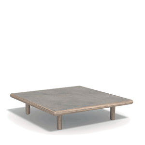 contemporary coffee table / wooden / marble / natural stone