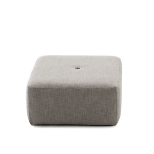 contemporary pouf / mesh / acrylic fabric / in synthetic fabric