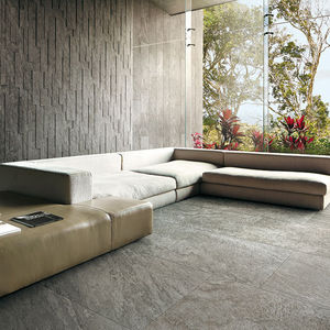 outdoor tile / floor / porcelain stoneware / 30x60 cm