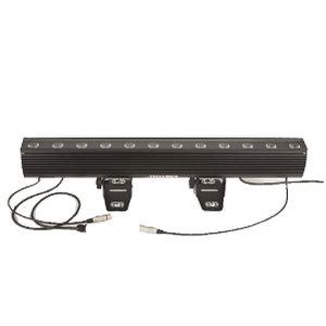 surface-mounted light fixture / RGBW LED / linear / cast aluminum