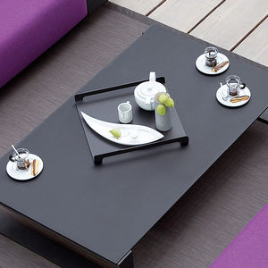 aluminum serving tray / commercial / for domestic use