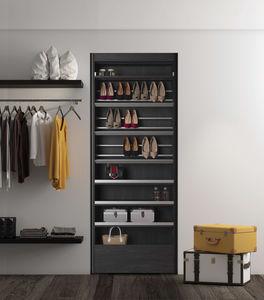 contemporary shoe rack