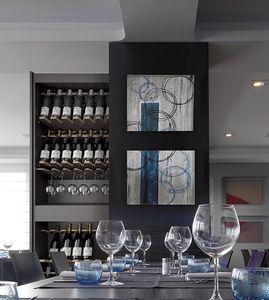home wine cupboard