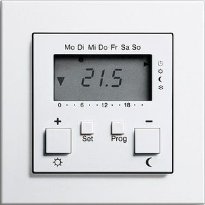 programmable thermostat / digital / wall-mounted / for heating