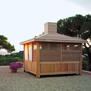 red cedar garden cabin / contemporary