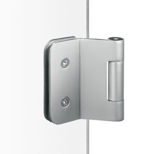 glass door hinge / stainless steel / aluminum