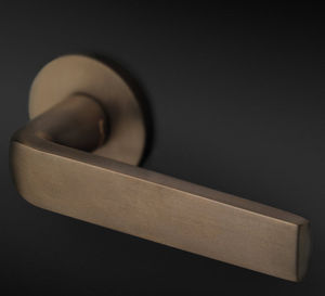 door handle / window / brass / stainless steel