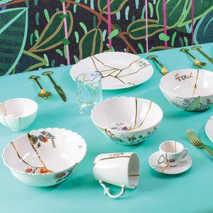 porcelain bowl / gold / home