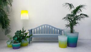 floor-standing lamp / contemporary / steel / polyethylene