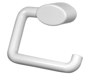 wall-mounted toilet roll holder / polyamide / commercial
