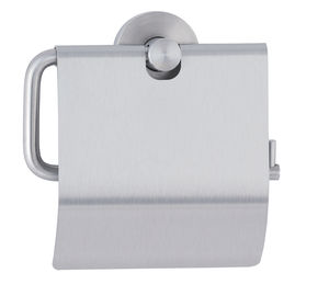 wall-mounted toilet roll holder / stainless steel / commercial / home