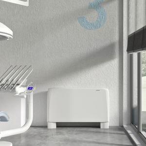floor-mounted fan coil