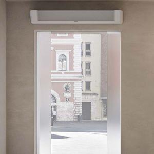 wall-mounted air curtain
