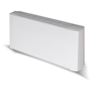 electric convector / steel / contemporary / rectangular
