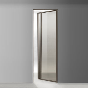 interior door / swing / glass / aluminium