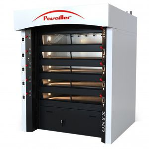 commercial oven / electric / compact / built-in