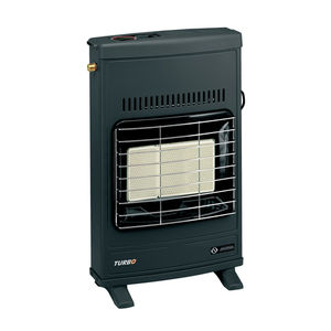 wall-mounted infrared heater / floor-mounted / gas