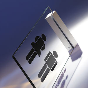 orientation signage plate