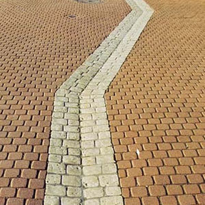 stone drainage channel