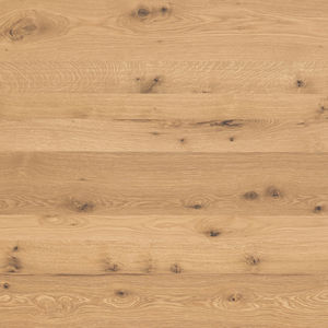 wooden laminate flooring / HPL / floating / glued