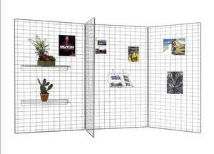 metal display grid