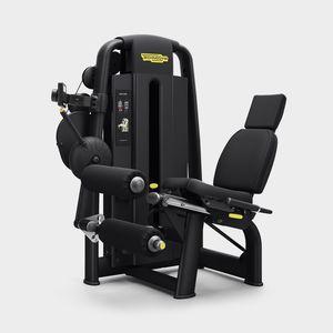 leg curl weight training machine