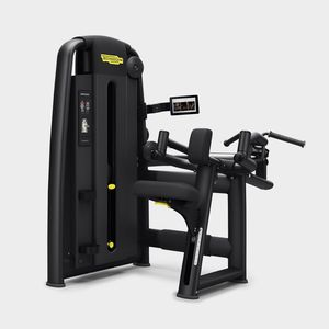 back extension weight training machine