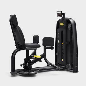 leg abduction weight training machine