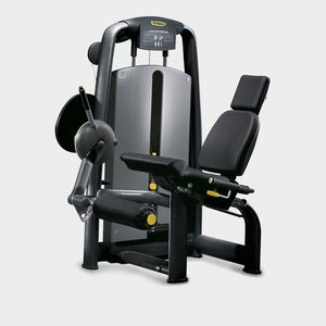 leg extension weight training machine